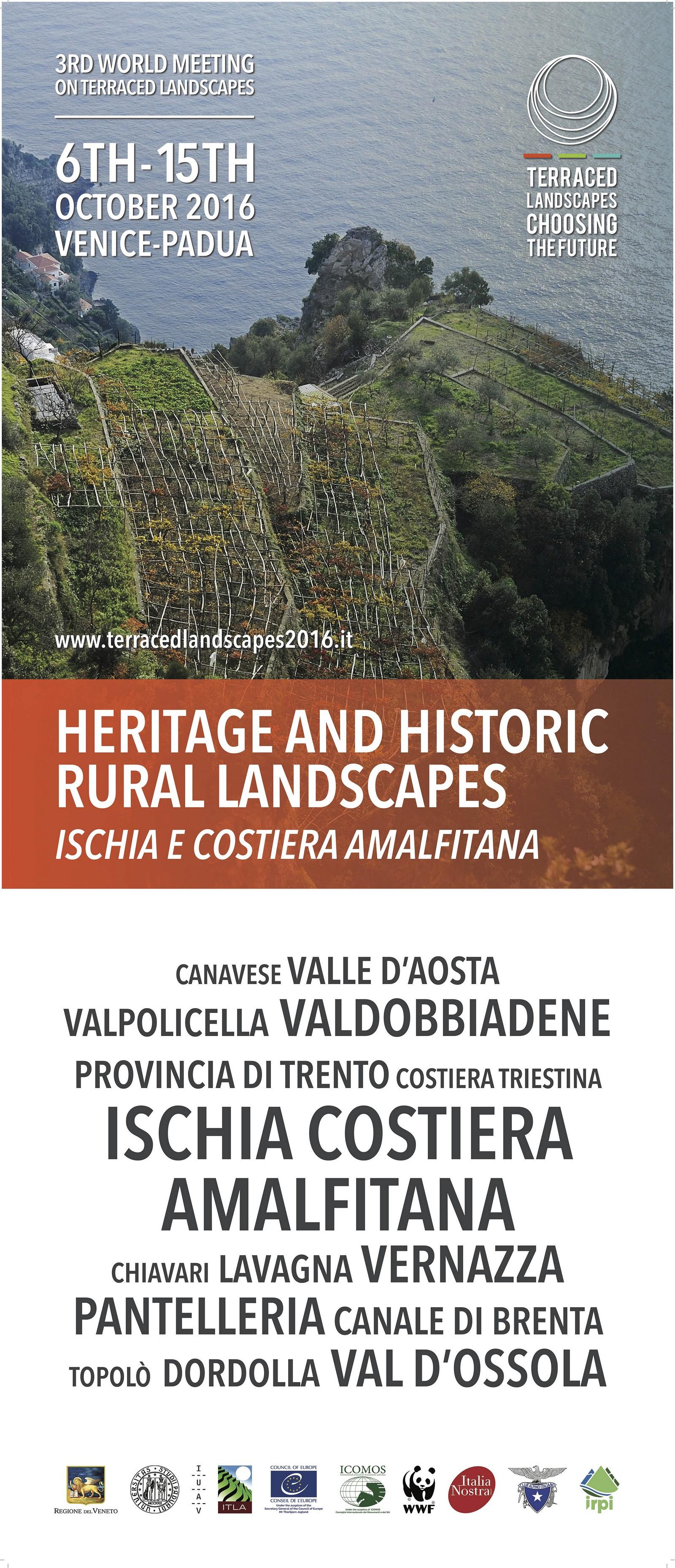 Manifesto Terraced Landscape Ischia e Costiera Amalfitana