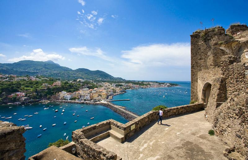 Ischia Ponte dal Castello Aragonese