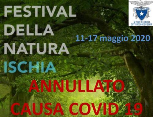 """Annullato, causa Covid 19, il Primo """"Festival della Natura"""" organizzato dal CAI Ischia"""